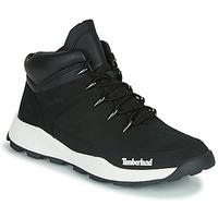 Zapatos Niños Botas de caña baja Timberland BROOKLYN EURO SPRINT TD Negro