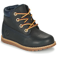 Zapatos Niños Botas de caña baja Timberland POKEY PINE 6IN BOOT WITH Azul