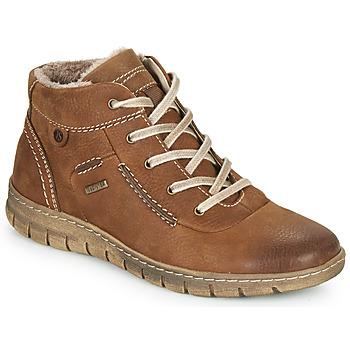 Zapatos Mujer Zapatillas altas Josef Seibel STEFFI 53 Marrón