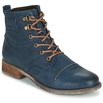 Zapatos Mujer Botas de caña baja Josef Seibel SIENNA 17 Marino