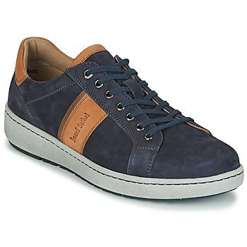 Zapatos Hombre Zapatillas bajas Josef Seibel DAVID 01 Azul
