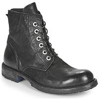 Zapatos Mujer Botas de caña baja Moma MALE Negro