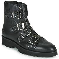 Zapatos Mujer Botas de caña baja Melvin & Hamilton SUSAN Negro