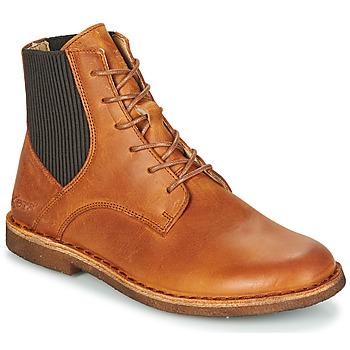 Zapatos Mujer Botas de caña baja Kickers TITI Marrón