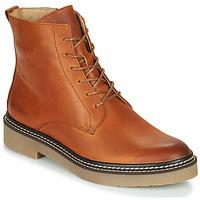 Zapatos Mujer Botas de caña baja Kickers OXIGENO Camel / Naranja