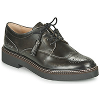 Zapatos Mujer Derbie Kickers OXANYBY Plateado / Negro