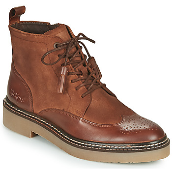 Zapatos Mujer Botas de caña baja Kickers OXANYHIGH Marrón