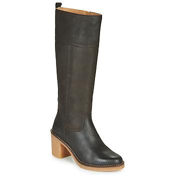 Zapatos Mujer Botas urbanas Kickers AVERNO Marrón