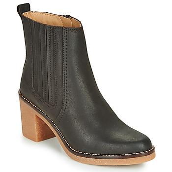 Zapatos Mujer Botas de caña baja Kickers AVERNY Marrón