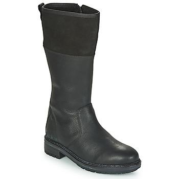 Zapatos Mujer Botas urbanas Kickers WATHIGH Negro