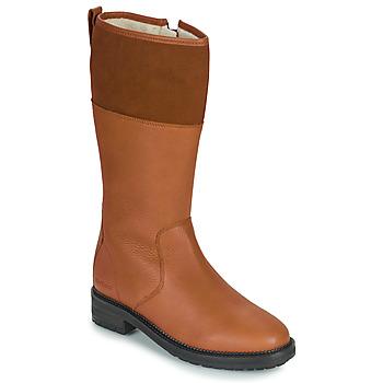 Zapatos Mujer Botas urbanas Kickers WATHIGH Camel