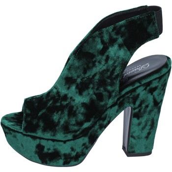 Zapatos Mujer Sandalias David Haron sandalias terciopelo verde