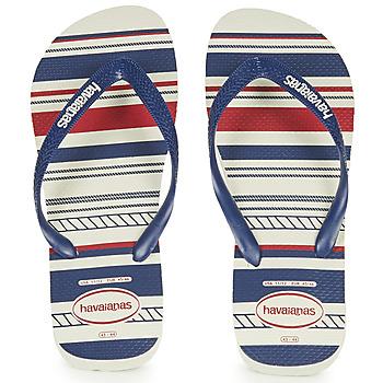Zapatos Hombre Chanclas Havaianas Top Nautical Azul / Rojo