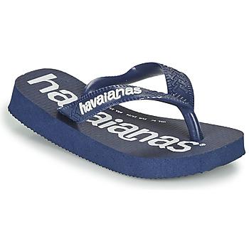 Zapatos Niño Chanclas Havaianas TOP LOGOMANIA Marino