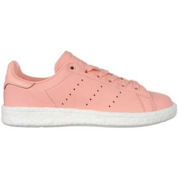 Zapatos Mujer Zapatillas bajas adidas Originals Stan Smith Boost Rosa