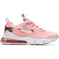 Zapatos Mujer Zapatillas bajas Nike Air Max 270 React GG Rosa