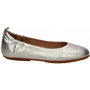 Zapatos Mujer Bailarinas-manoletinas FitFlop ALLEGRO BALLERINAS silver