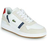 Zapatos Hombre Zapatillas bajas Lacoste T-CLIP 0120 2 SMA Blanco / Marino / Rojo