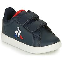 Zapatos Niños Zapatillas bajas Le Coq Sportif COURTSET INF Marino