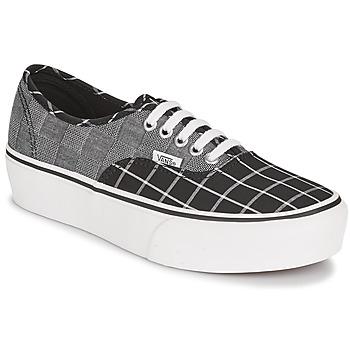Zapatos Mujer Zapatillas bajas Vans AUTHENTIC PLATFORM 2.0 Gris