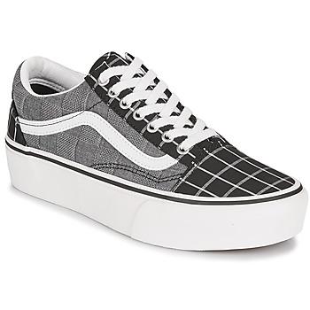 Zapatos Mujer Zapatillas bajas Vans OLD SKOOL PLATFORM Gris