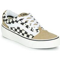 Zapatos Mujer Zapatillas bajas Vans SHAPE NI Beige / Blanco
