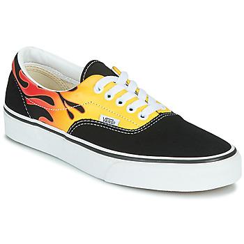 Zapatos Zapatillas bajas Vans ERA Negro / Llama