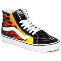 Zapatos Zapatillas altas Vans SK8-HI REISSUE Negro / Llama