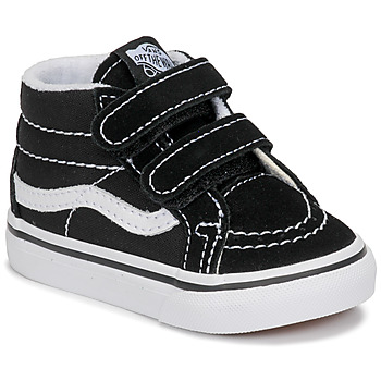 Zapatos Niños Zapatillas altas Vans TD SK8-MID REISSUE V Negro / Blanco