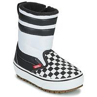 Zapatos Niños Botas de nieve Vans YT SLIP-ON SNOW BOOT MTE Negro / Blanco
