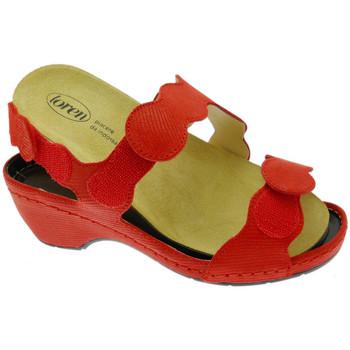 Zapatos Mujer Sandalias Calzaturificio Loren LOE687ro rosso