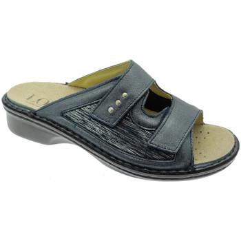 Zapatos Mujer Zuecos (Mules) Calzaturificio Loren LOM2824bl blu