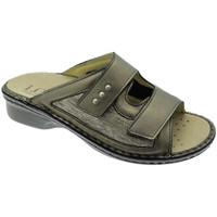 Zapatos Mujer Zuecos (Mules) Calzaturificio Loren LOM2824br tortora