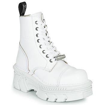 Zapatos Botas de caña baja New Rock M-MILI083CM-C56 Blanco