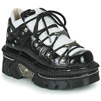 Zapatos Mujer Zapatillas bajas New Rock M-106N-S76 Negro / Blanco