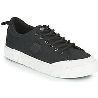 Zapatos Mujer Zapatillas bajas Palladium Manufacture STUDIO 02 Negro