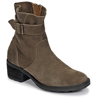 Zapatos Mujer Botines Palladium Manufacture MARGO 04 SUD Kaki