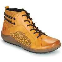 Zapatos Mujer Zapatillas altas Remonte Dorndorf R1499-68 Amarillo