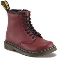 Zapatos Mujer Botas de caña baja Dr Martens 1460 T Softy T Cherry Red Softy T Rood