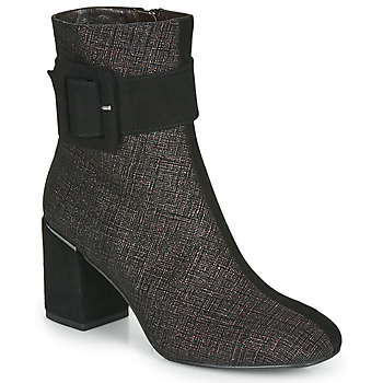 Zapatos Mujer Botines Perlato JAMIROCK Negro