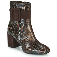 Zapatos Mujer Botines Perlato JAMIROCK Marrón