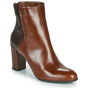 Zapatos Mujer Botines Perlato JAMICOT Marrón