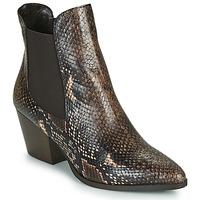 Zapatos Mujer Botines Perlato JAMOG Marrón