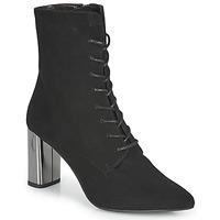 Zapatos Mujer Botines Perlato JAMOGA Negro