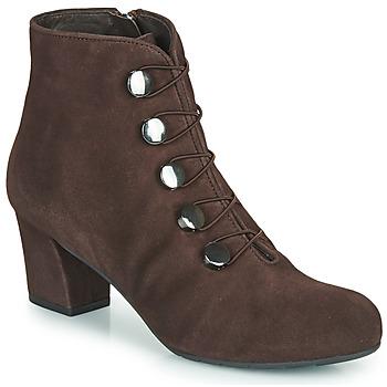 Zapatos Mujer Botines Perlato JAMOVE Marrón