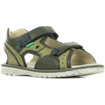 Zapatos Niños Sandalias de deporte Kickers Pepper Verde