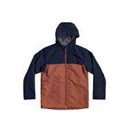 textil Niño cazadoras Quiksilver WAITING PERIOD Marino / Marrón