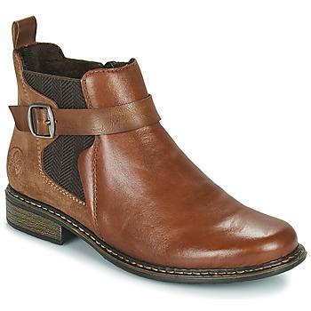 Zapatos Mujer Botines Rieker Z49A9-24 Camel