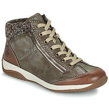 Zapatos Mujer Botas de caña baja Rieker L5223-24 Marrón