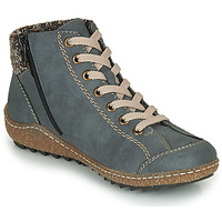 Zapatos Mujer Botas de caña baja Rieker L7543-14 Azul